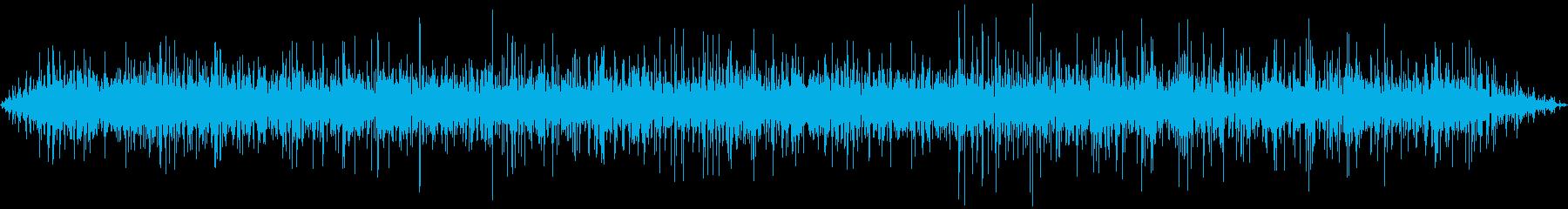 バブリング大釜の再生済みの波形