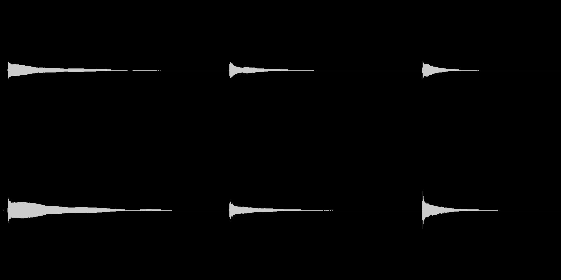 素材 ウエスタンギターシングルノー...の未再生の波形