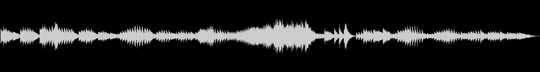 ちょっと不気味なベートーベンピアノソナタの未再生の波形