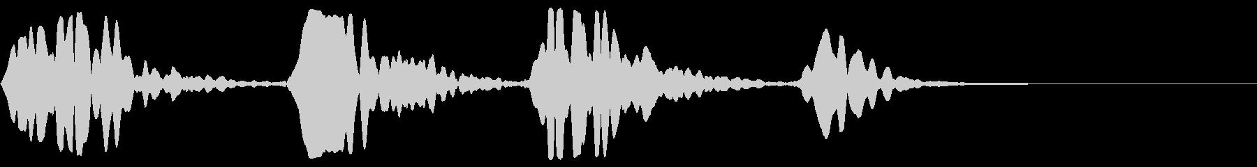 電子の鳴き声:低速およびパルス宇宙...の未再生の波形