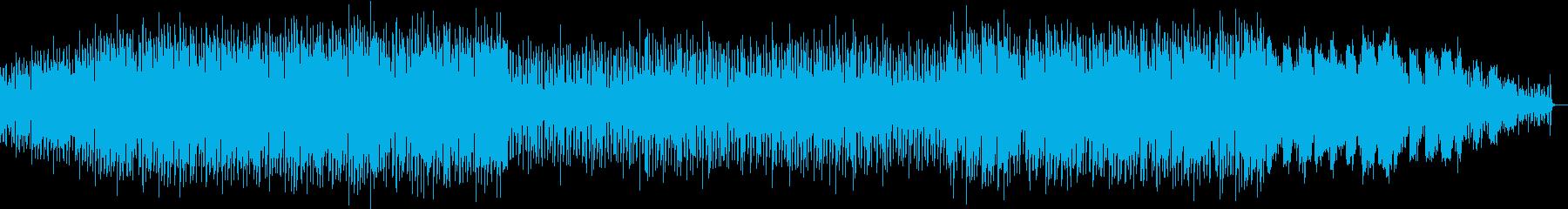 秘めた怒りを重厚なSynとGtで表した曲の再生済みの波形
