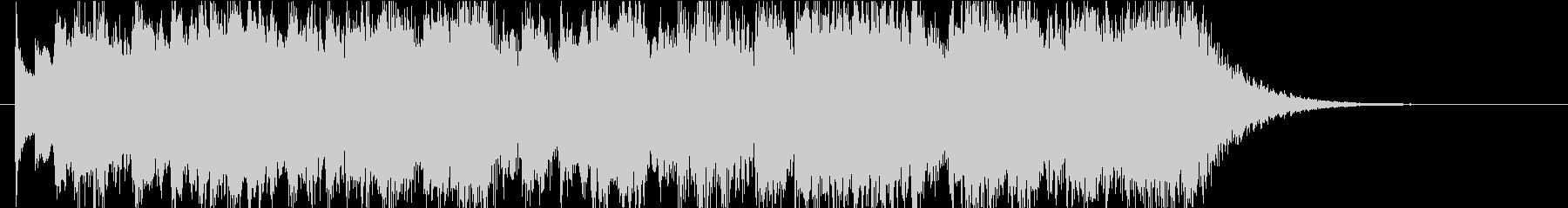 怪しい雰囲気のダークメルヘンなEDの未再生の波形