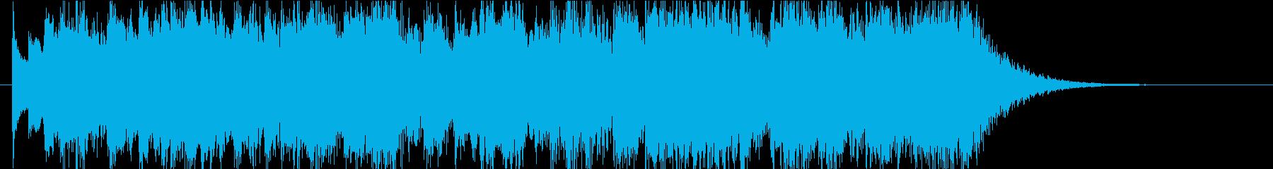 怪しい雰囲気のダークメルヘンなEDの再生済みの波形
