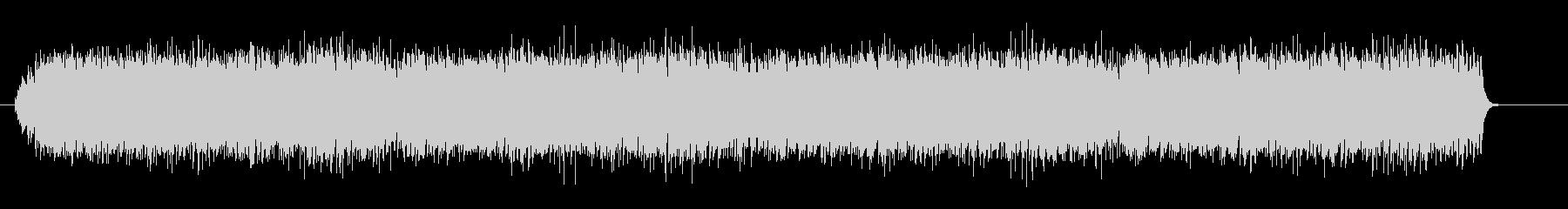 木琴と鳥の声のミニマルの未再生の波形