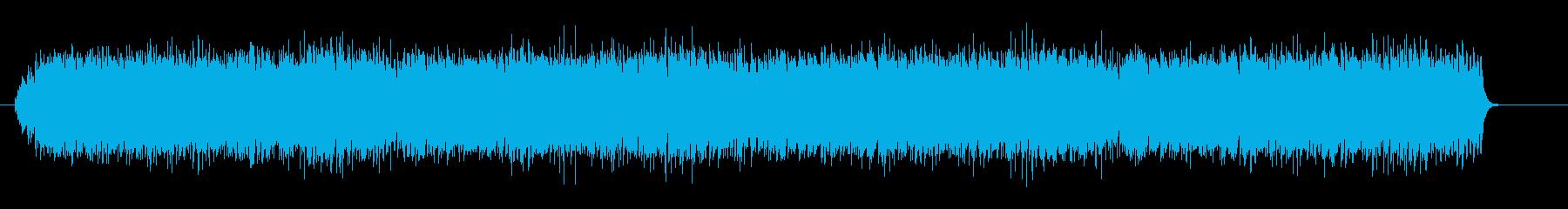 木琴と鳥の声のミニマルの再生済みの波形