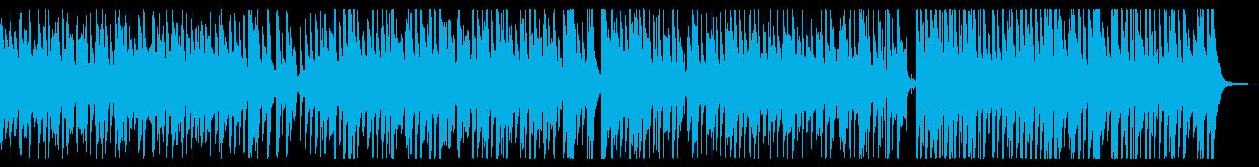 民族音楽風、哀愁漂うコミカル日常BGMの再生済みの波形