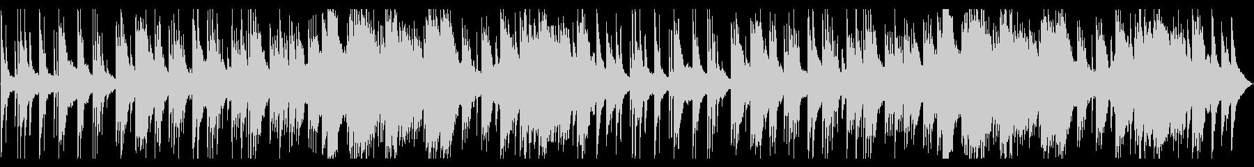 暖かくて少し切ない感動のピアノバラードの未再生の波形