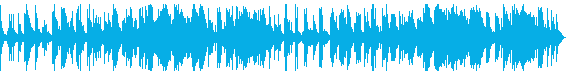 A warm and painful piano ballad's reproduced waveform