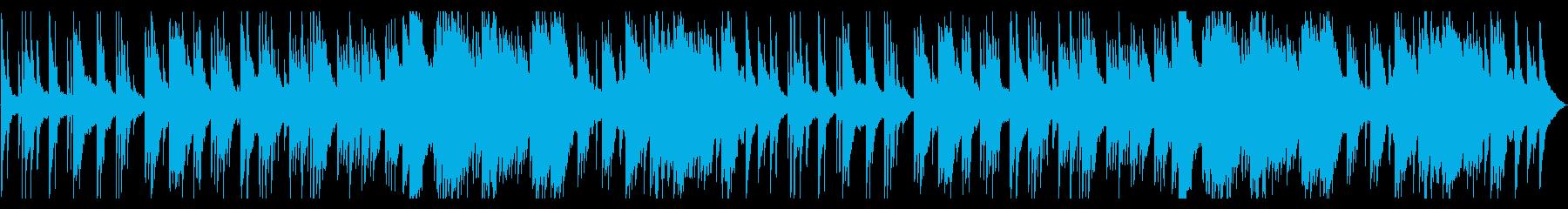 暖かくて少し切ない感動のピアノバラードの再生済みの波形