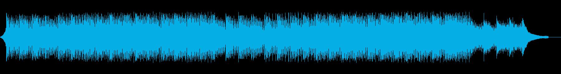 企業VP会社紹介透明感爽やか疾走感A16の再生済みの波形
