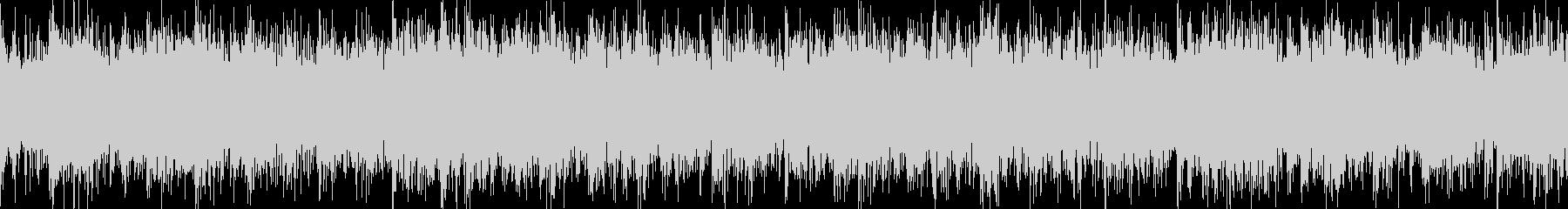 冷酷ホラーループBGMの未再生の波形