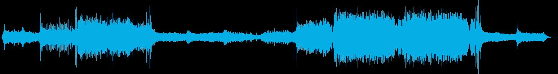 和太鼓の入ったトランスの再生済みの波形