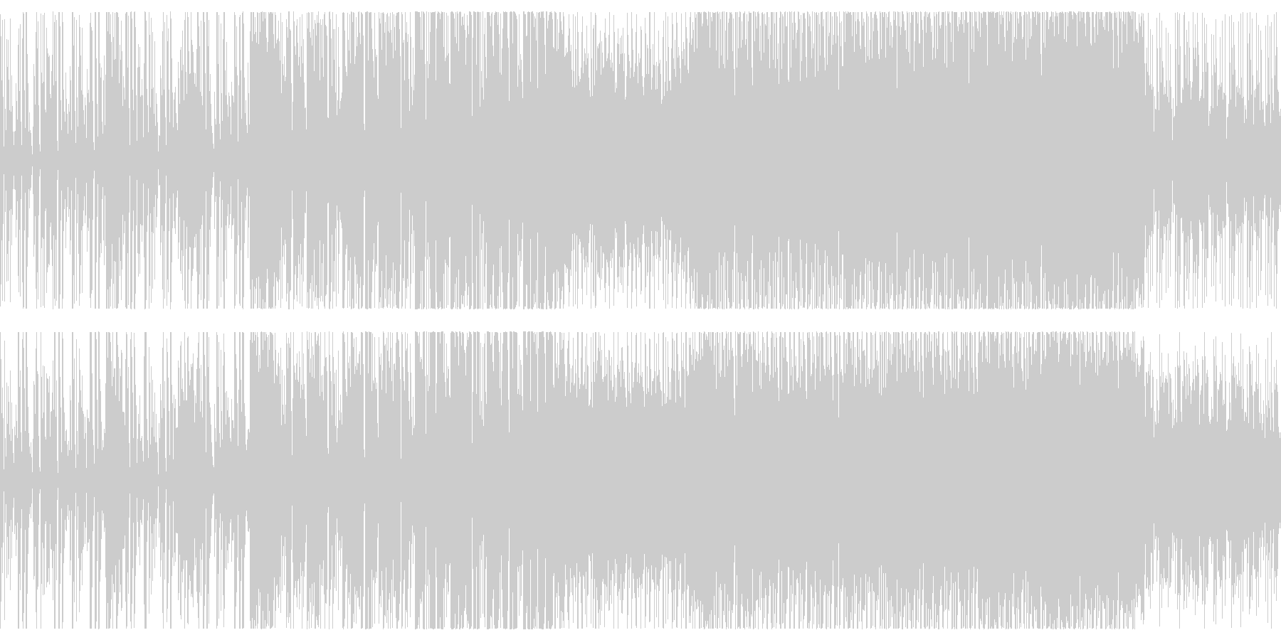 Bright and energetic synth loop BGM's unreproduced waveform