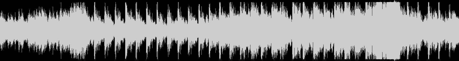 不穏・戦闘のBGM用オーケストラ曲ループの未再生の波形