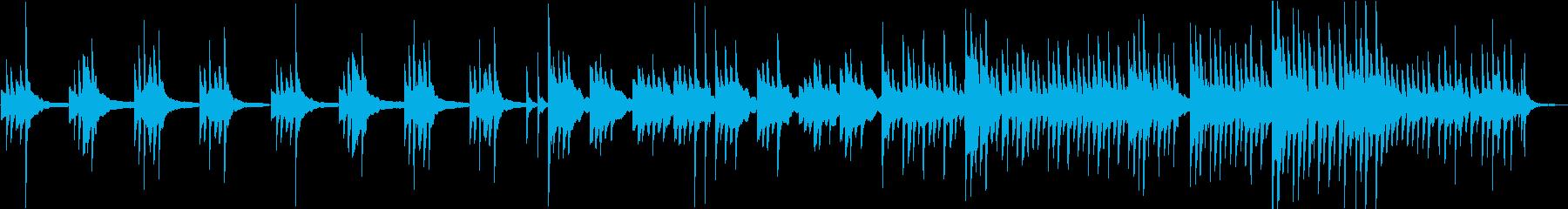 ソロピアノ/しっとり/センチメンタルの再生済みの波形