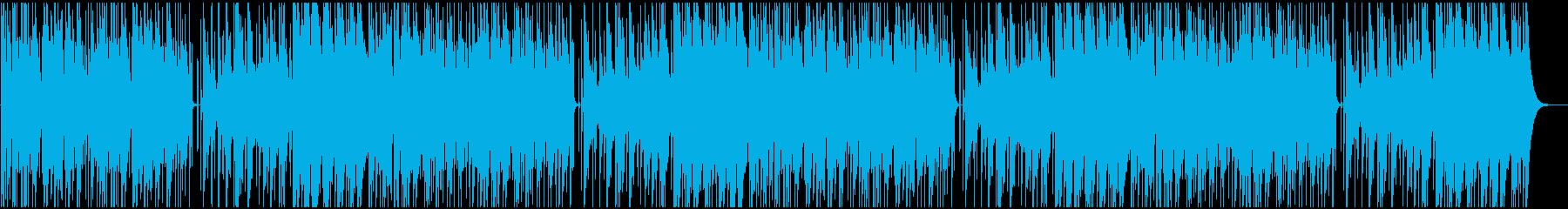 ほのぼのとしたアコギメインのインストの再生済みの波形