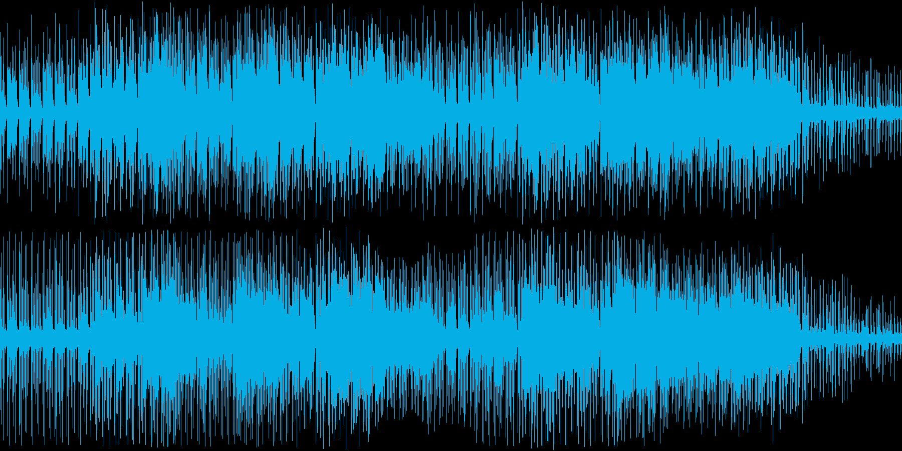 RPG・探検・スリル・オーケストラ調の再生済みの波形
