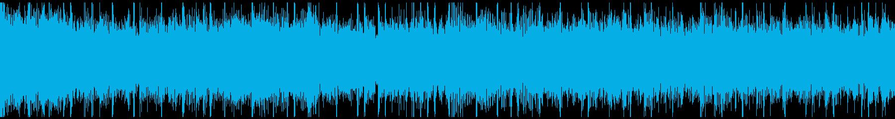 ロックテイストの歌い出しに使えそうな曲の再生済みの波形