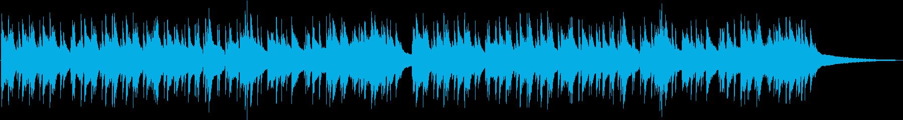 ゆったりお洒落なピアノジャズの再生済みの波形