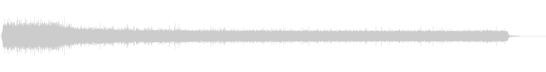 タップ、シンクフィルメタルシンクの未再生の波形