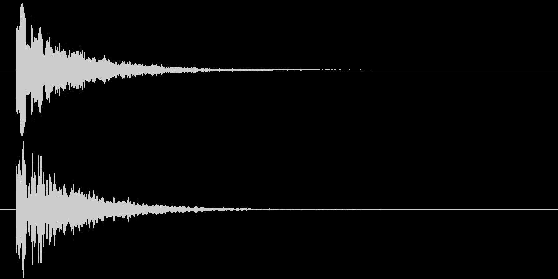 ピロリ③(スタート・クリア・一時停止)の未再生の波形
