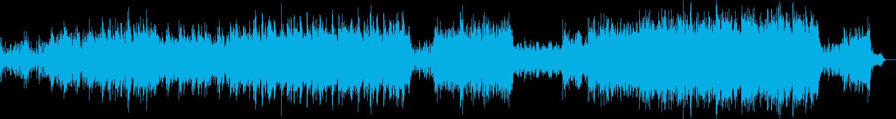 サスペンス・怪しげ・恐怖・暗い・ホラー曲の再生済みの波形