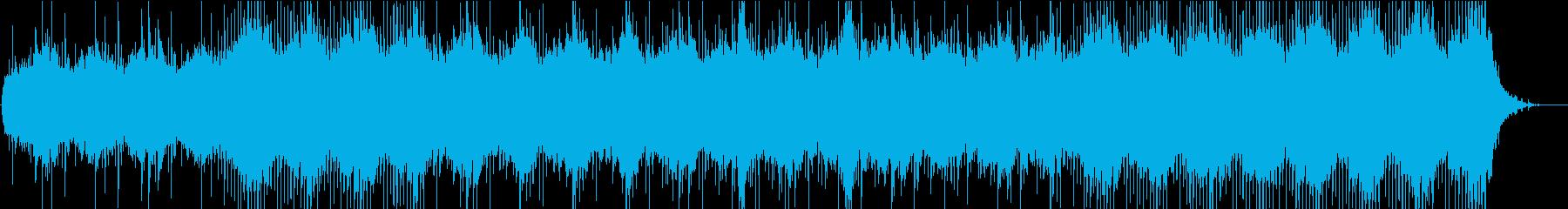 不穏で不気味なシタールの曲の再生済みの波形