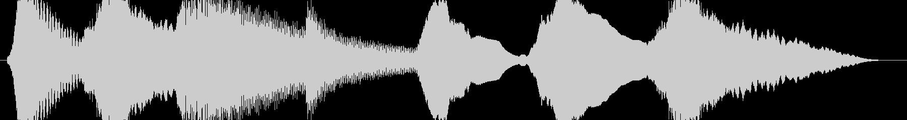 ホラー系 金属的な音 暗がり等の未再生の波形