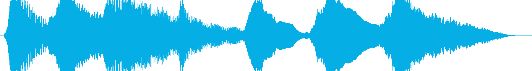 ホラー系 金属的な音 暗がり等の再生済みの波形