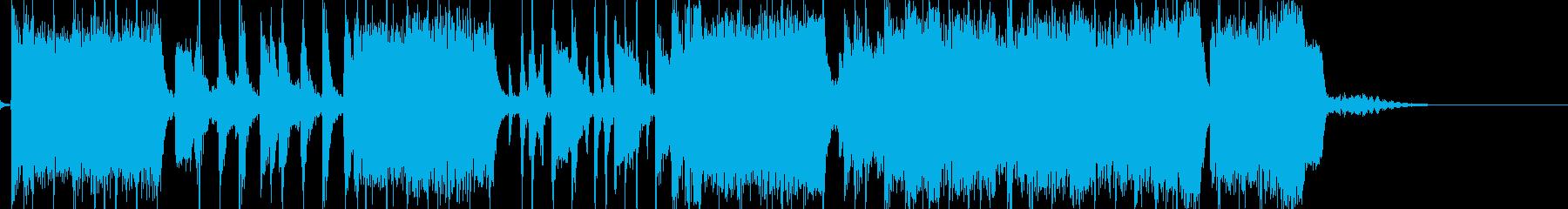 どこか懐かしいハードロックサウンド の再生済みの波形