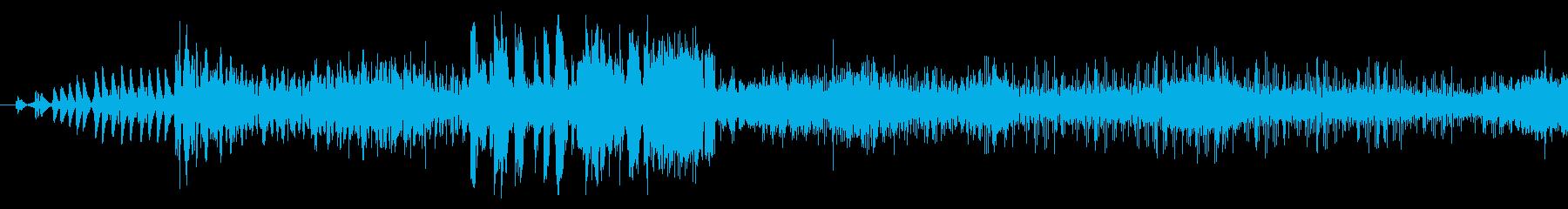 脳波遷移の再生済みの波形