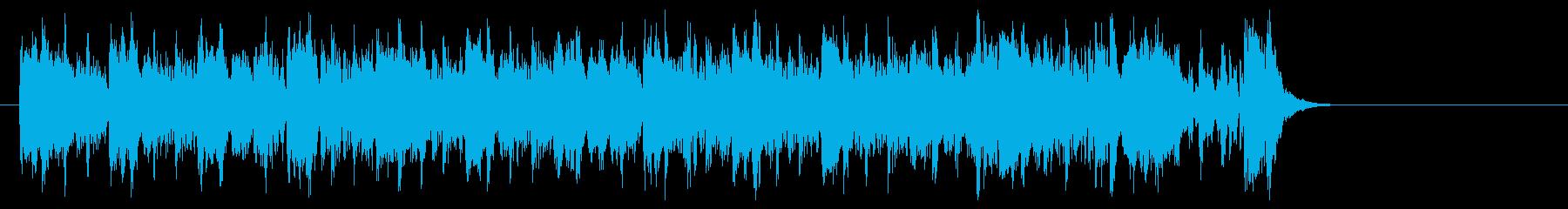 エレクトリックポップス(エンディング)の再生済みの波形