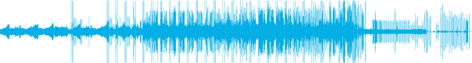 雨のエレクトロ二カの再生済みの波形