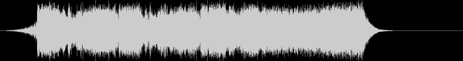 ピンチシーンのRPG系オーケストラBGMの未再生の波形