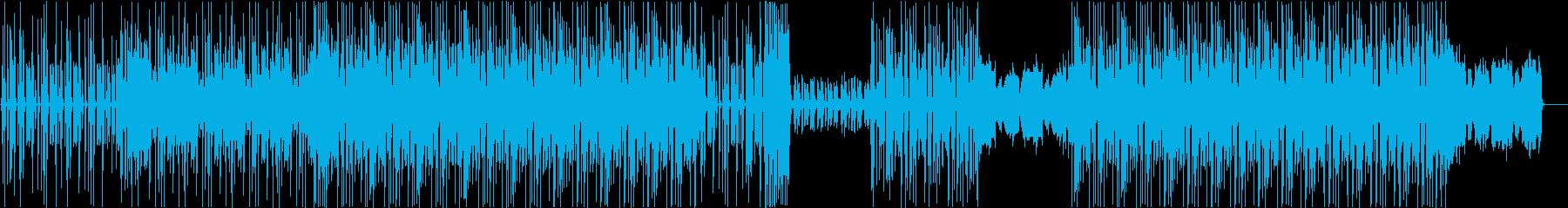 緊張感やシリアスな雰囲気が伝わるBGMの再生済みの波形