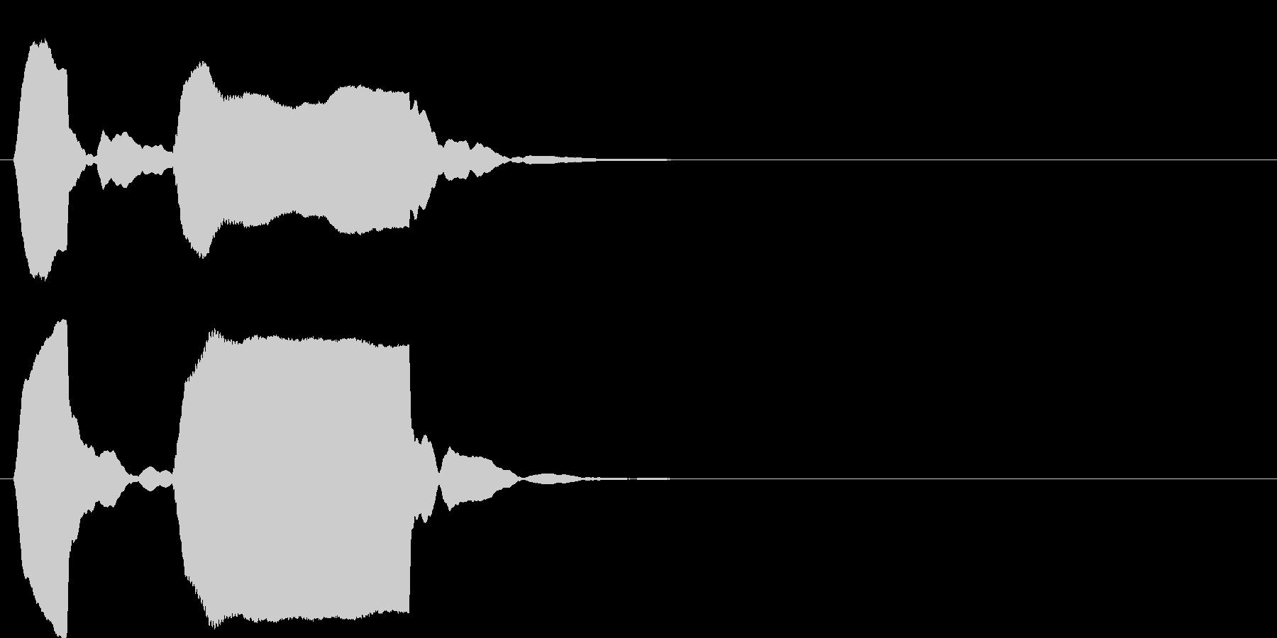 ピンポン系5 ポッポー(高)の未再生の波形