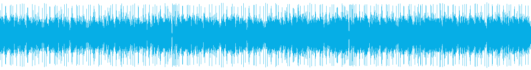 クールで舞踏的な和風ジャズ(ループの再生済みの波形