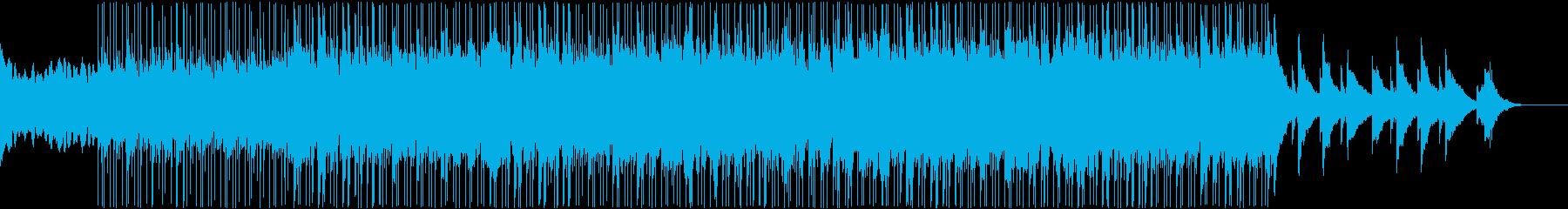 瞑想に使えそうなヒーリングミュージックの再生済みの波形