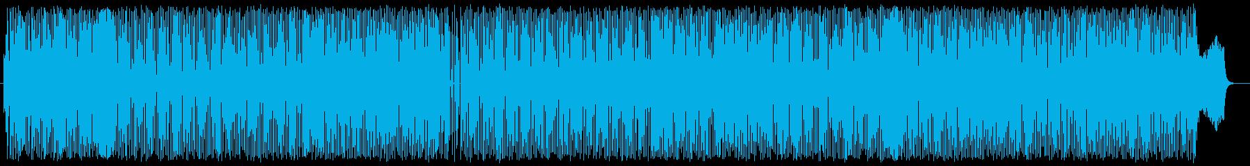 ハーモニカとピアノ哀愁レゲエの再生済みの波形