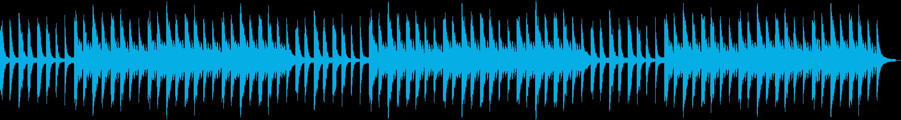 幻想的で切ないピアノの旋律の再生済みの波形