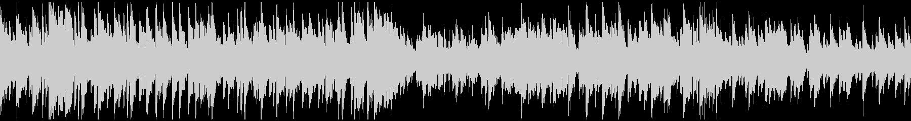 知的でスタイリッシュなジャズ ※ループ版の未再生の波形