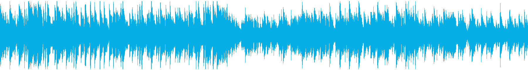 知的でスタイリッシュなジャズ ※ループ版の再生済みの波形