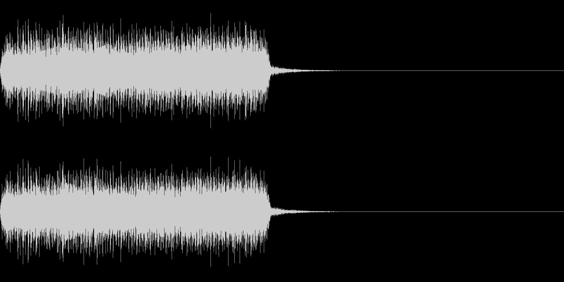 スパーク音-48の未再生の波形