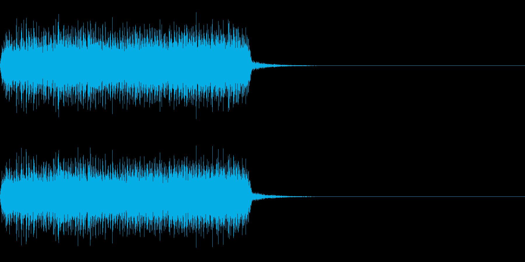 スパーク音-48の再生済みの波形