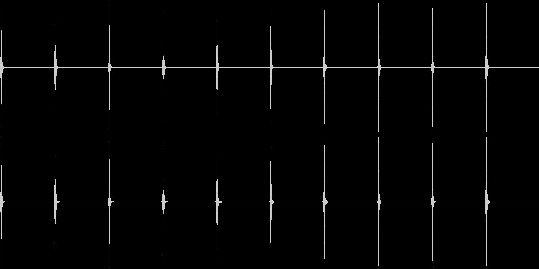時計1 秒針 10秒 ループ可の未再生の波形