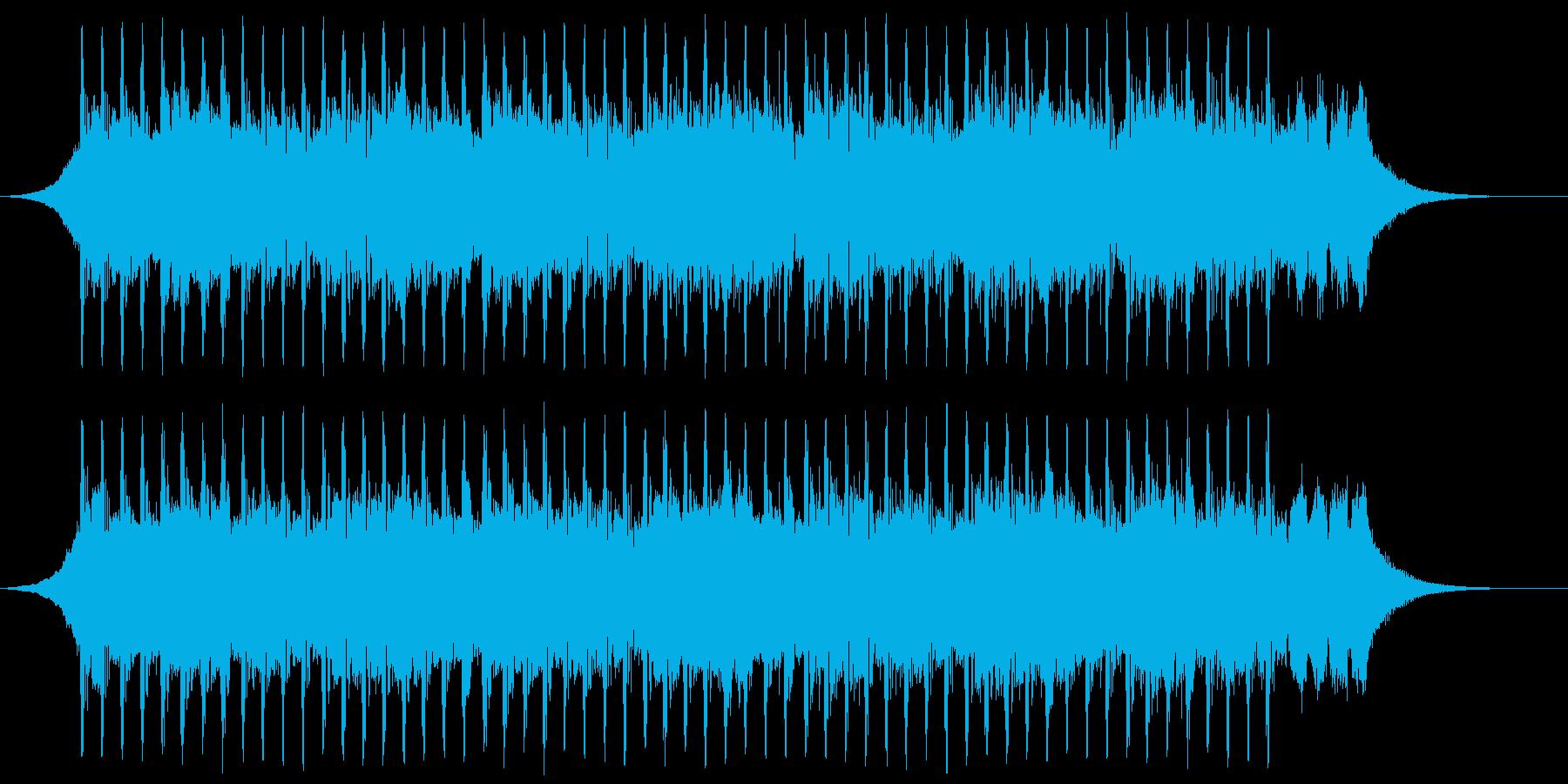 機関(40秒)の再生済みの波形