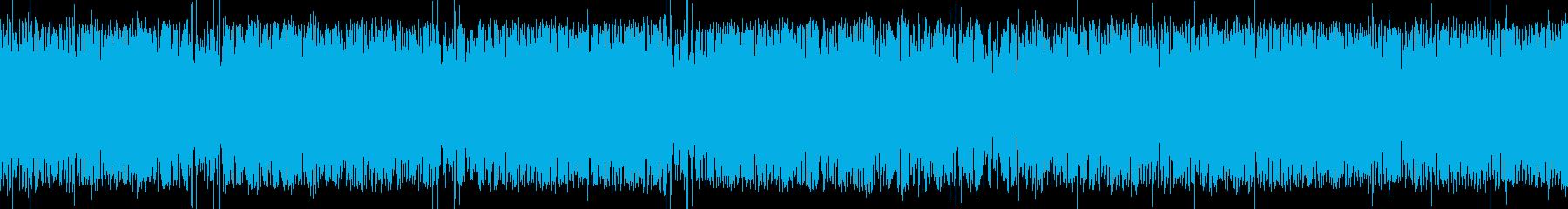 蒸気機関車(SL)の走行音(ドイツ)の再生済みの波形
