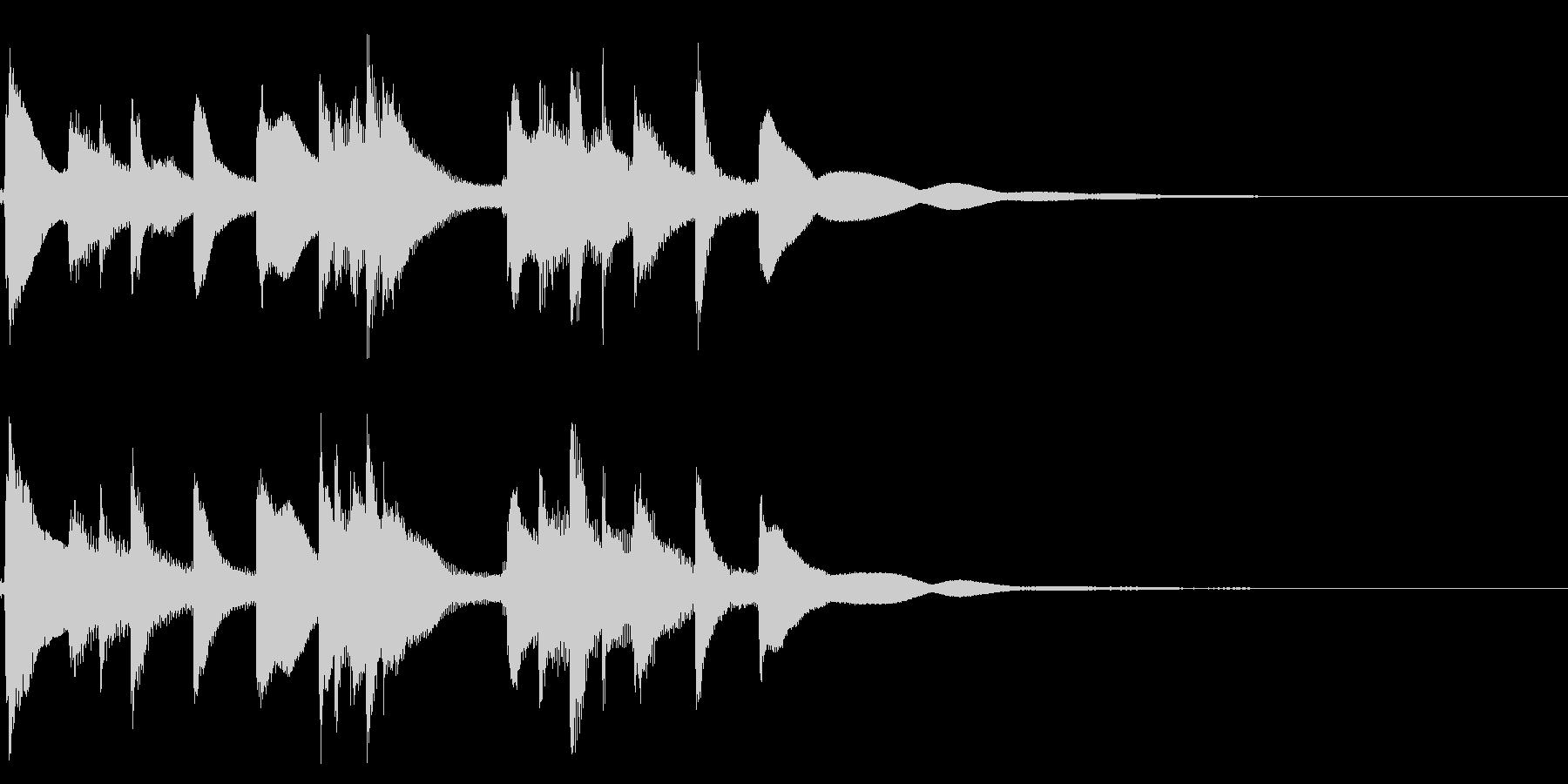 琴☆アイキャッチ1の未再生の波形