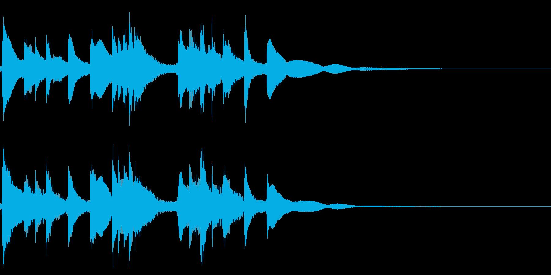 琴☆アイキャッチ1の再生済みの波形
