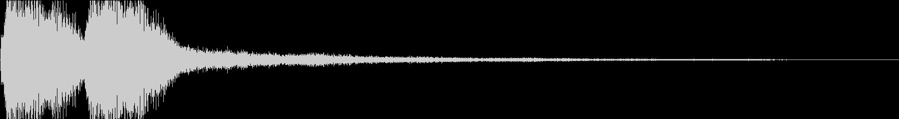 KANTクイズの時のジングル8の未再生の波形